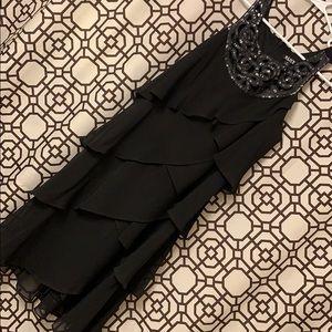 Black layered dress size 14